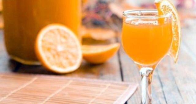 Домашній апельсиновий лікер