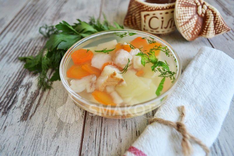 Рибний суп для дітей