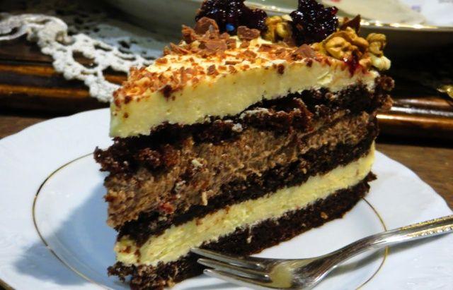Горіховий торт Мілківей