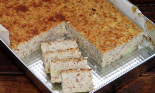 Гречаний пиріг
