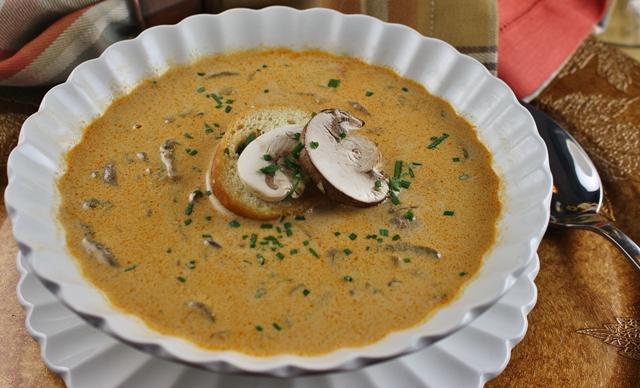 Угорський суп з грибами