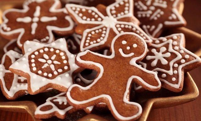 Імбирне печиво з глазур'ю