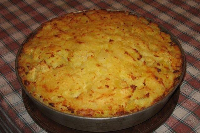 Картопляно-м'ясна запіканка