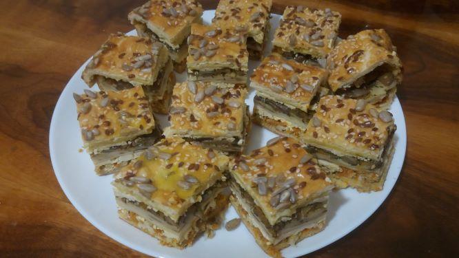 Королівський пиріг з куркою та грибами