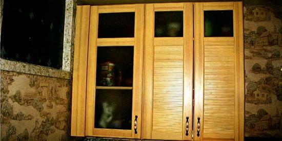 Фасад для кухонних меблів за новою технологією
