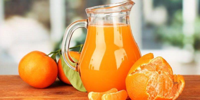 Тонізуючий напій з мандарин та імбиру