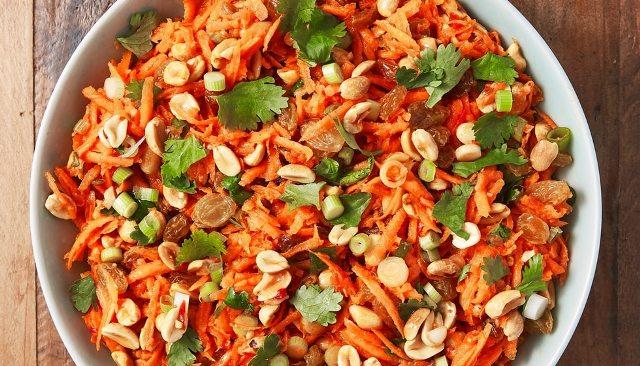 Марокканський салат з морквою