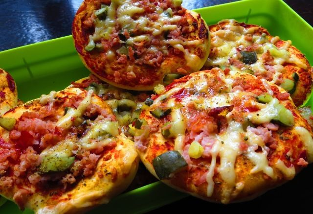 Міні-піца в духовці