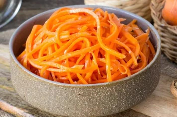 Морква по корейськи