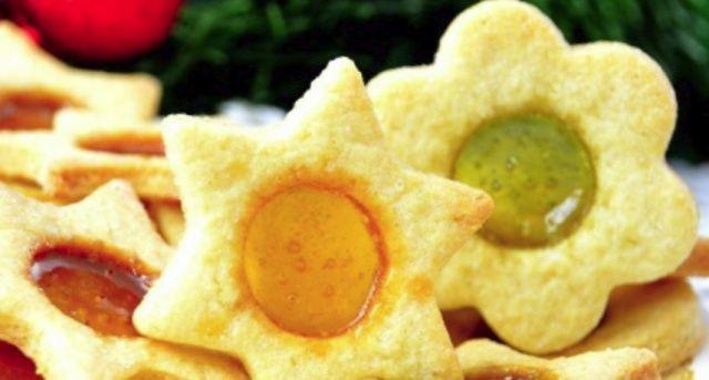 Печиво з вітражем