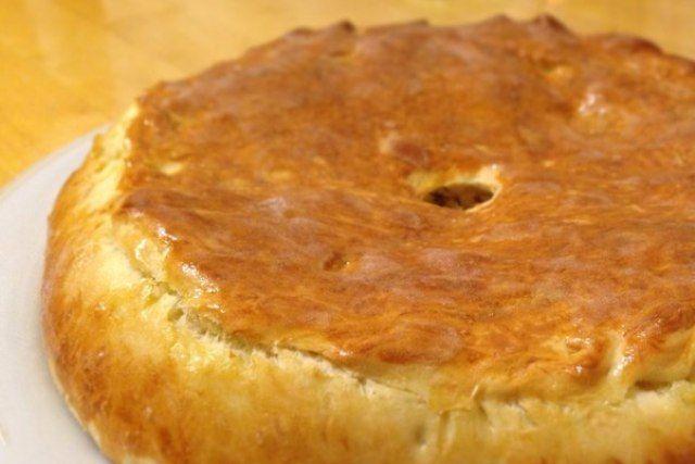 Пиріг з куркою