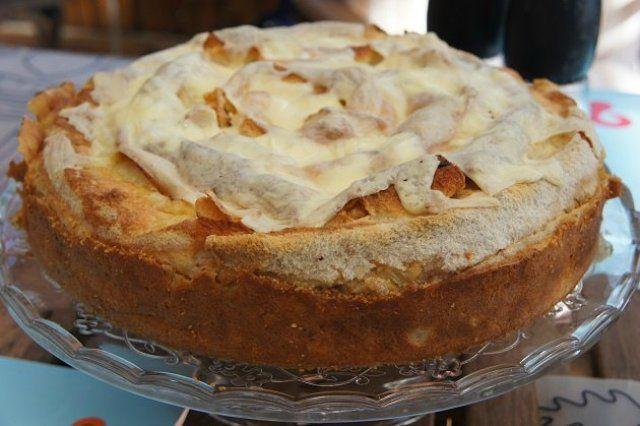 Пиріг з лаваша з куркою в вершковій заливці