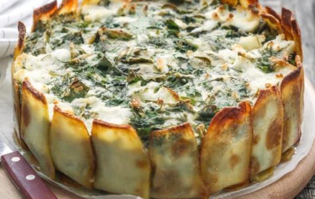 Пиріг з зеленню