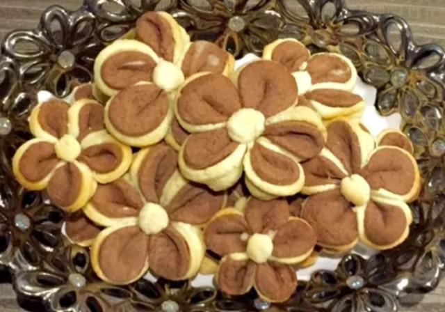 Пісочне печиво - квіти