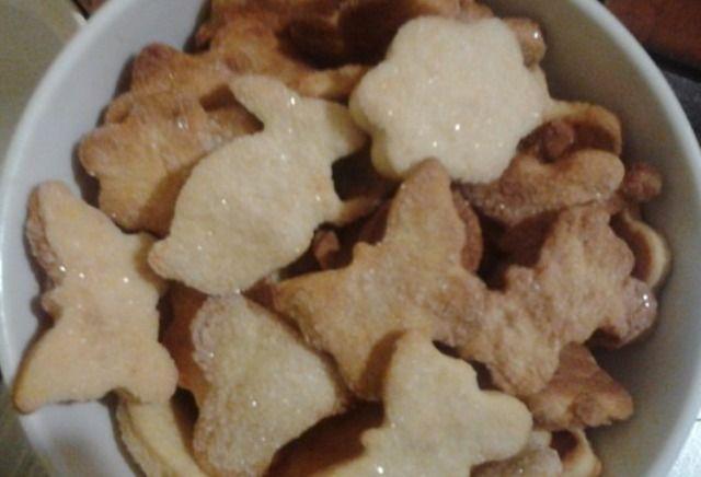 Дуже смачне печиво з пісочно-дріжджового тіста
