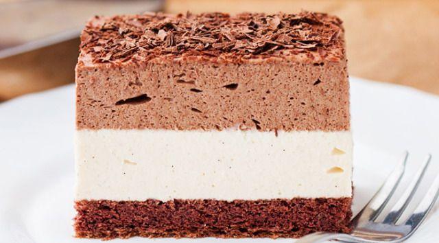 Пляцок шоколадно-халвовий