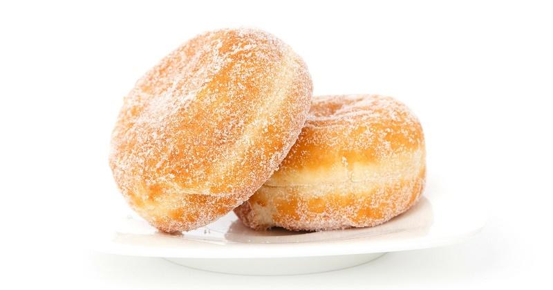 Пончики з абрикосами