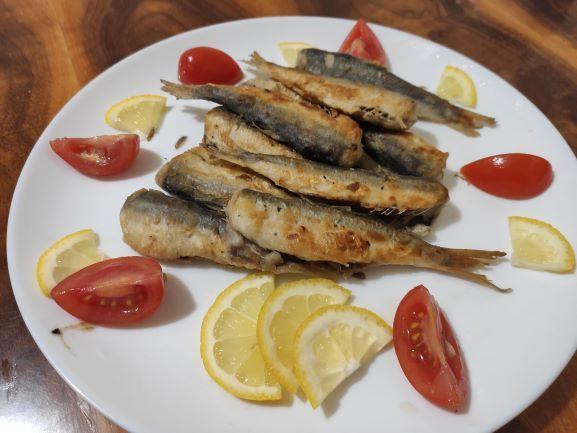 Риба Салака смажена