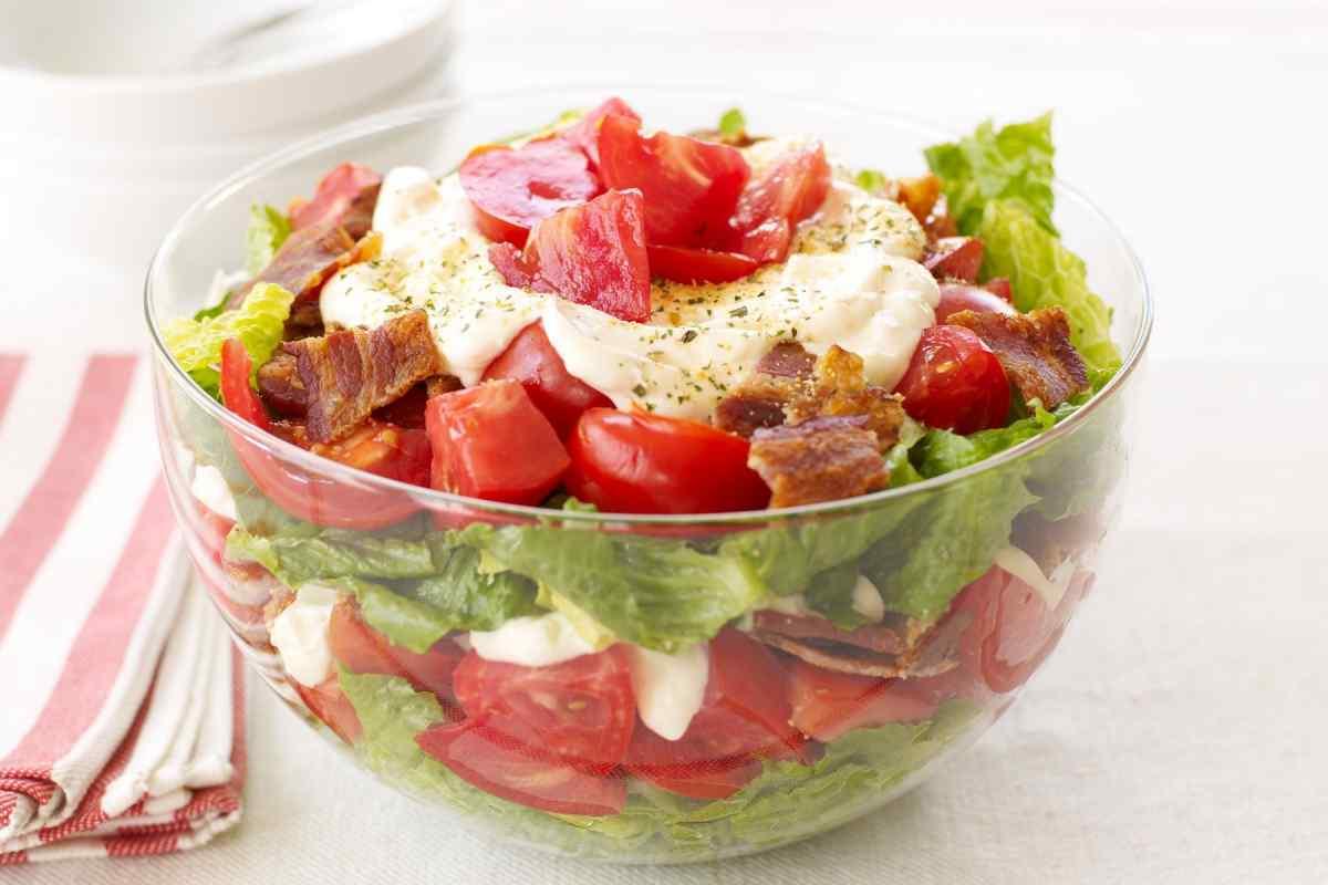 Весняний салат «Сім шарів»