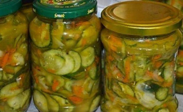 Салат на зиму з огірками
