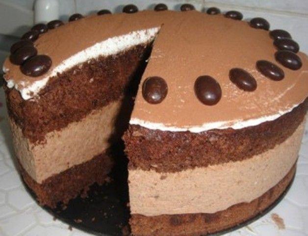 Шоколадний мусовий торт