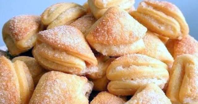 Дуже просте сирне печиво