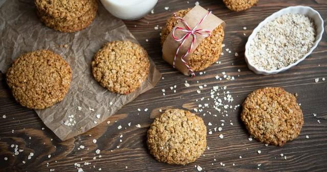 Смачне домашнє вівсяне печиво
