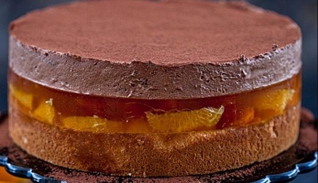 Торт Апельсинова деліція