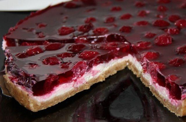 Как приготовить торт с вишней в домашних условиях 481