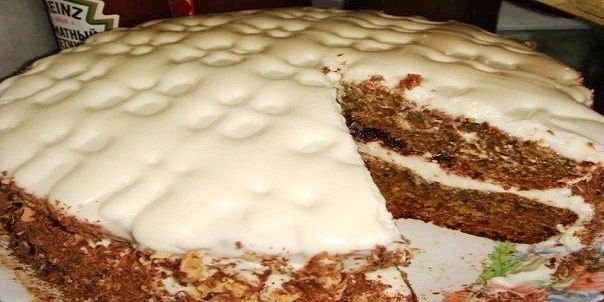 Швидкий і простий торт з варенням