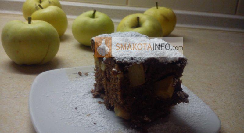 Запашний яблучний пляцок - рецепт