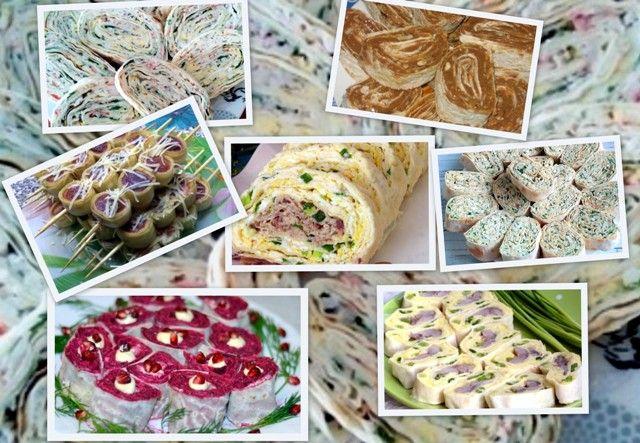 7 цікавих закусок з лаваша