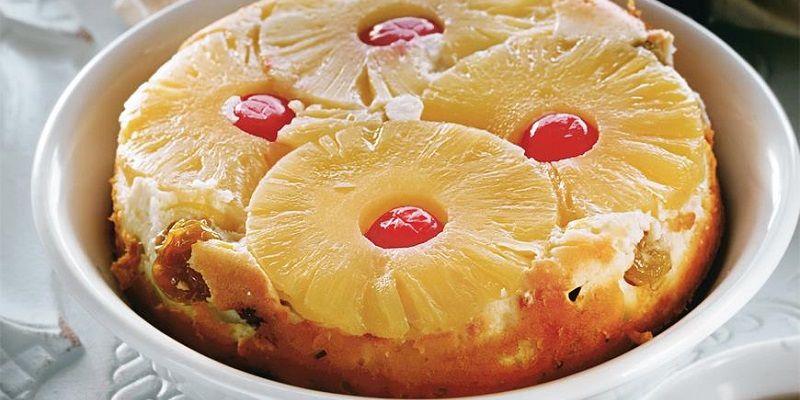 Запіканка сирна з ананасом