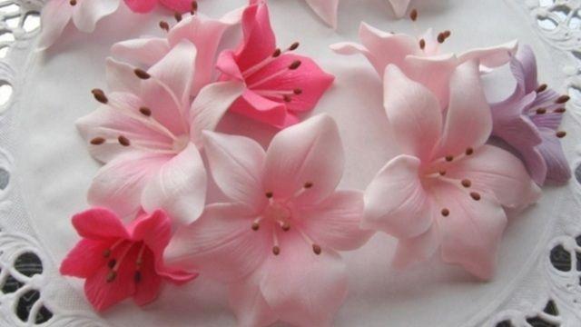 Желатинова мастика для квітів